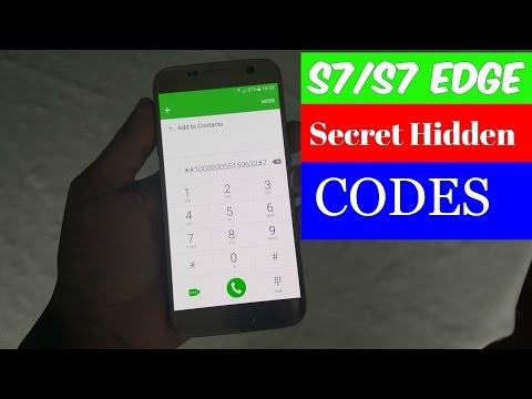 Samsung Galaxy S7S7 Edge S8Galaxy S8+ (Secret Hidden Codes Tips & Tricks)