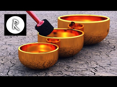 9 HOURS Tibetan Healing Sounds Singing Bowls Natural sounds Gold for Meditation & Relaxation