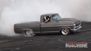 EVIL72 F100 Pickup Burnout
