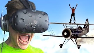 STUNT FLYING IN VIRTUAL REALITY