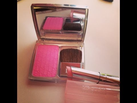 Tutorial Tuesday: Dior Rosy Glow & Dior Lip Glow!