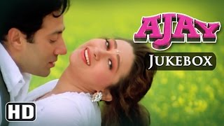 All Songs Of Ajay {HD} - Sunny Deol - Karishma Kapoor - Anand-Milind Hits - Hindi Full Songs