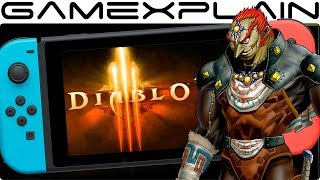 LEAK: Diablo 3 Coming to Nintendo Switch With Exclusive Zelda Bonuses! (& Switch Online Support)