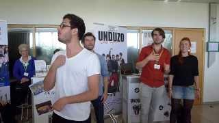 Unduzo - Publikumssong, a-cappella&unplugged @ chor.com 2015 Dortmund