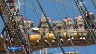 Marina Militare - Vespucci manovra alle vele
