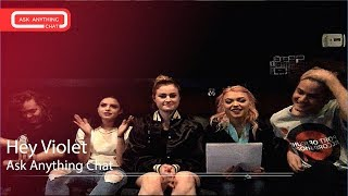"Hey Violet Talk About ""Grumpy Cat"" & Making Hoodie Video.  Watch Part 1"