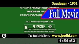 Watch: Saudagar (1951) Full Movie Online