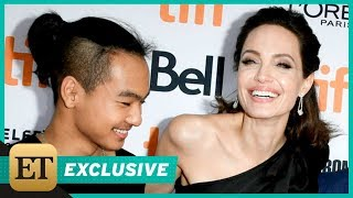 EXCLUSIVE: Angelina Jolie on Son Maddox's Work Ethic: His Production Notes Were 'Better Than Mine…