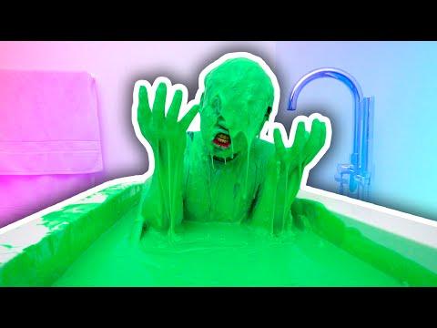 SLIME BATH CHALLENGE