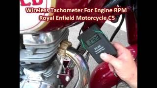 Wireless Tachometer Tech Tach For Checking Idle RPM Of Motorcycle
