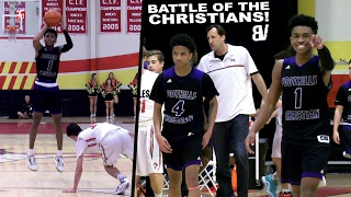Jaylen Hands SHUTS UP Overrated Chants! Foothills Christian HEATED COMEBACK VS Santa Fe Christian!