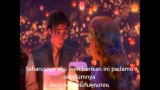 [lirik+th Sub] Tisa Julianti Haryadi - Ku Lihat Cahaya Itu