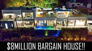 $8MILLION BARGAIN HOLLYWOOD MANSION!