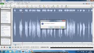 A tutorial about how to use wavepad to record audio