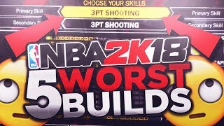 AVOID CREATING THESE POPULAR BUILDS IN NBA 2K18 PLAYGROUNDS/MYPARK