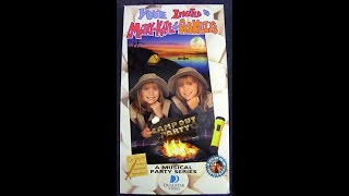 Opening To You're Invited To Mary Kate And Ashley's Campout Party 1998 VHS