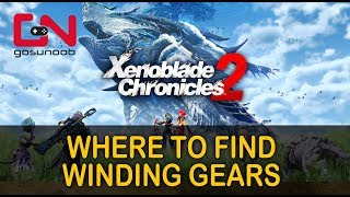 Xenoblade Chronicles 2 - Where to find Winding Gears - Repair Torigoth's Crane Quest