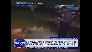Saksi: Police official na protektor umano ng isang drug lord, patay sa buy-bust operation