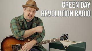 Green Day - Revolution Radio - Guitar Lesson - How to Play - Tutorial, Riff, Chords, Rhythm