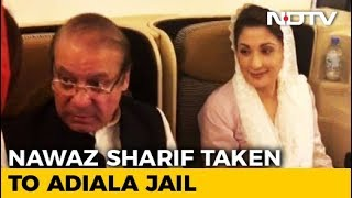 Nawaz Sharif, Daughter Arrested At Lahore Airport, Sent To Jail