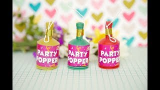 DIY Party Poppers Make at Home