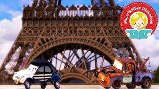 Cars - Martin à Paris - Histoire raconté aux enfants - Mes Petites Histoires