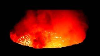 Stunning Volcanic Eruption in Congo (আগ্নেয়গিরি লাভা ভিডিও)