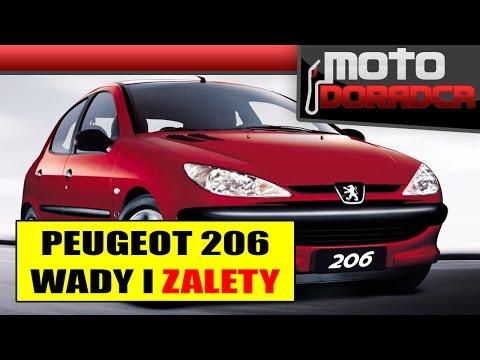Peugeot 206 WADY I ZALETY 283 MOTO DORADCA