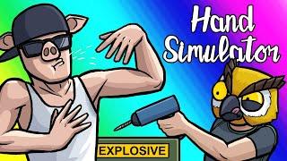 Hand Simulator Funny Moments - The Shake & Bake and Beatbox Defusal!