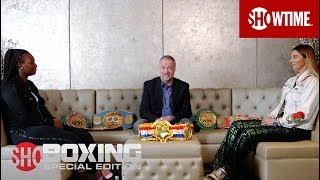 Claressa Shields vs. Christina Hammer | Pre-Fight Interview | SHOWTIME BOXING: Special Edition