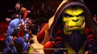 Thrall will follow Vol'jin - New Warchief - Cinematic - Horde Version