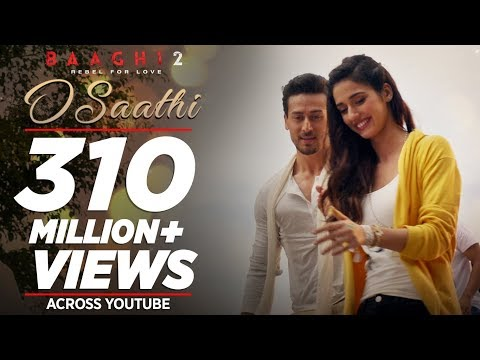 O Saathi Video Song | Baaghi 2 | Tiger Shroff | Disha Patani | Arko | Ahmed Khan | Sajid Nadiadwala-hdvid.in