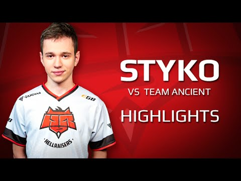 Highlights STYKO vs Team Ancient at StarLadder i-League Invitational #1 Qualifier