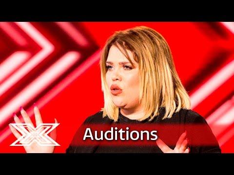Xxx Mp4 Pub Landlady Samantha Atkinson Belts Out Adele Auditions Week 4 The X Factor UK 2016 3gp Sex