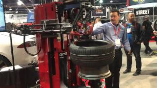 Hunter Engineering Automated Tire Change Equipment of the Future!