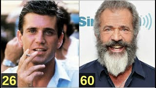 Mel Gibson From 8 to 61 years old
