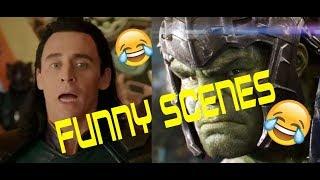 Thor Ragnarok Funny Scenes Part 1
