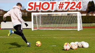I Took 1000 Free Kicks & THIS Was My Best GOAL!!