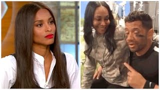 Disrespect? Ciara's Best Friend Spotted Sitting in Russell Wilson's Lap!