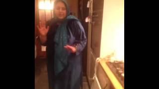 Wtf fat pakistani women dancing to Imran khan