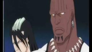 Bleach Arrancar Encyclopedia Episode 196 Byakuya & Zommari