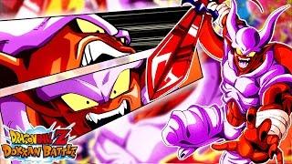 ALL THE DODGES! Janemba 50 Stamina Super 2 Stage! Dragon Ball Z Dokkan Battle