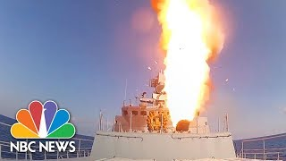 Russia Fires Cruise Missiles At ISIS Targets In Syria   NBC News