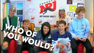 WHY DON'T WE | WHO OF YOU WOULD?