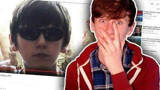 """Reacting To My Old """"Secret"""" Youtube Channel"""
