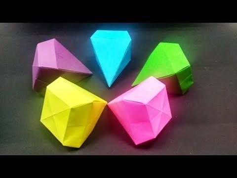 Origami Diamond Simple / Easy