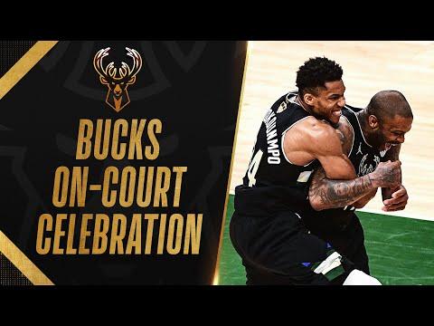 Milwaukee Bucks Celebrate First Finals Win in 50 Years 🎉