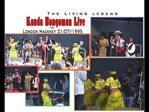 Kanda Bongoman Live in Hackney 7/1995 Ft Kibisi , NeneTshakou, Chantal
