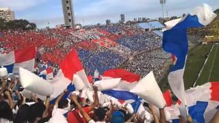 Recibimiento Clásico - Colombes Hinchada Tricolor - Nacional vs Peñarol  8/11/15