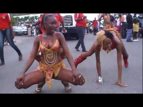 XPLOSION BONDE THE WICKEDEST HEAD DANCE SPLITS BOOTY SHAKING ST MAARTEN STYLE